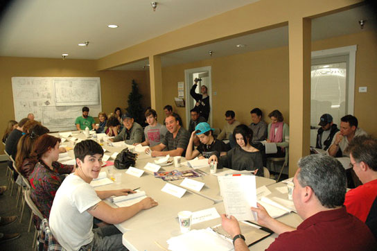 Selena Gomez read-through photo