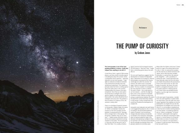 I-M, VolXIII, The pump of curiosity