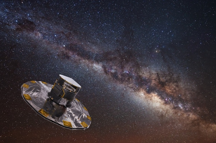 The Milky Way and ESA's Gaia spacecraft